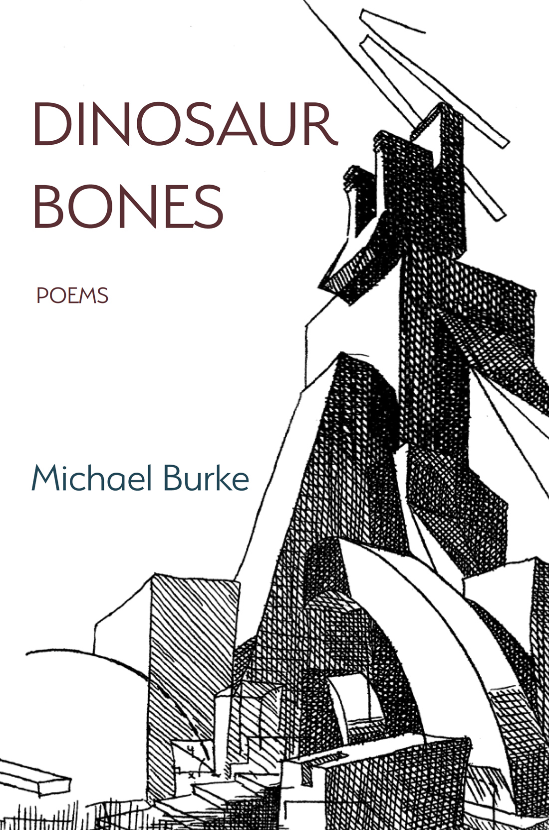 Cover of Dinosaur Bones by Michael Burke