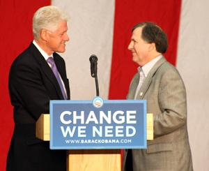Jack Selzer former President Bill Clinton